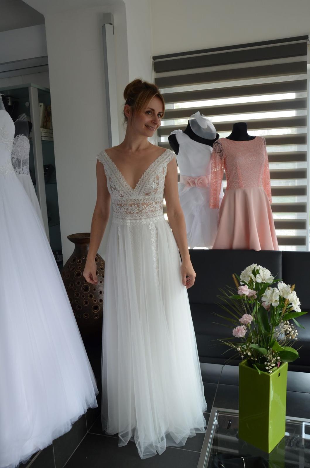 Boho svatební šaty - Obrázek č. 3