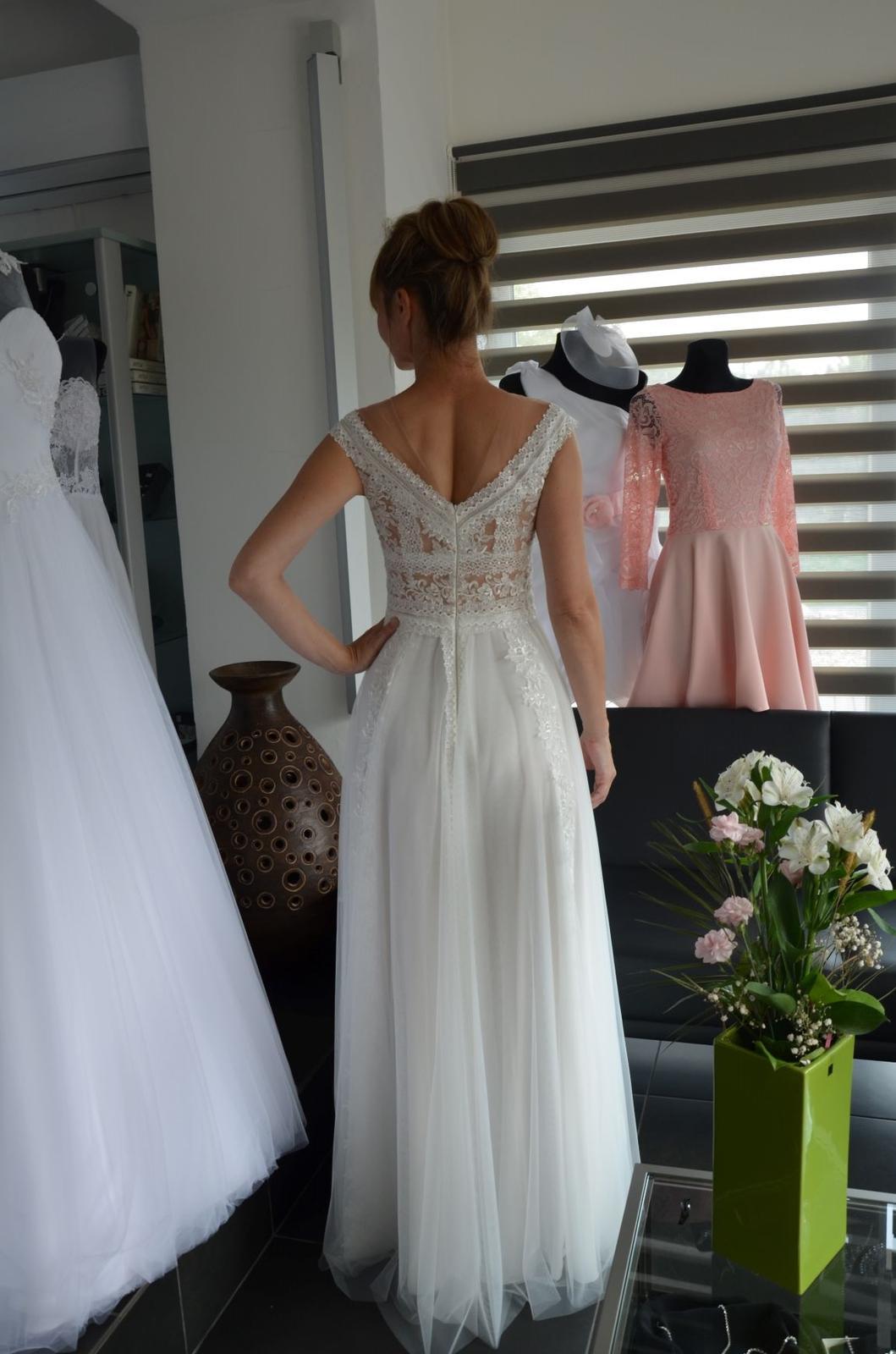 Boho svatební šaty - Obrázek č. 4