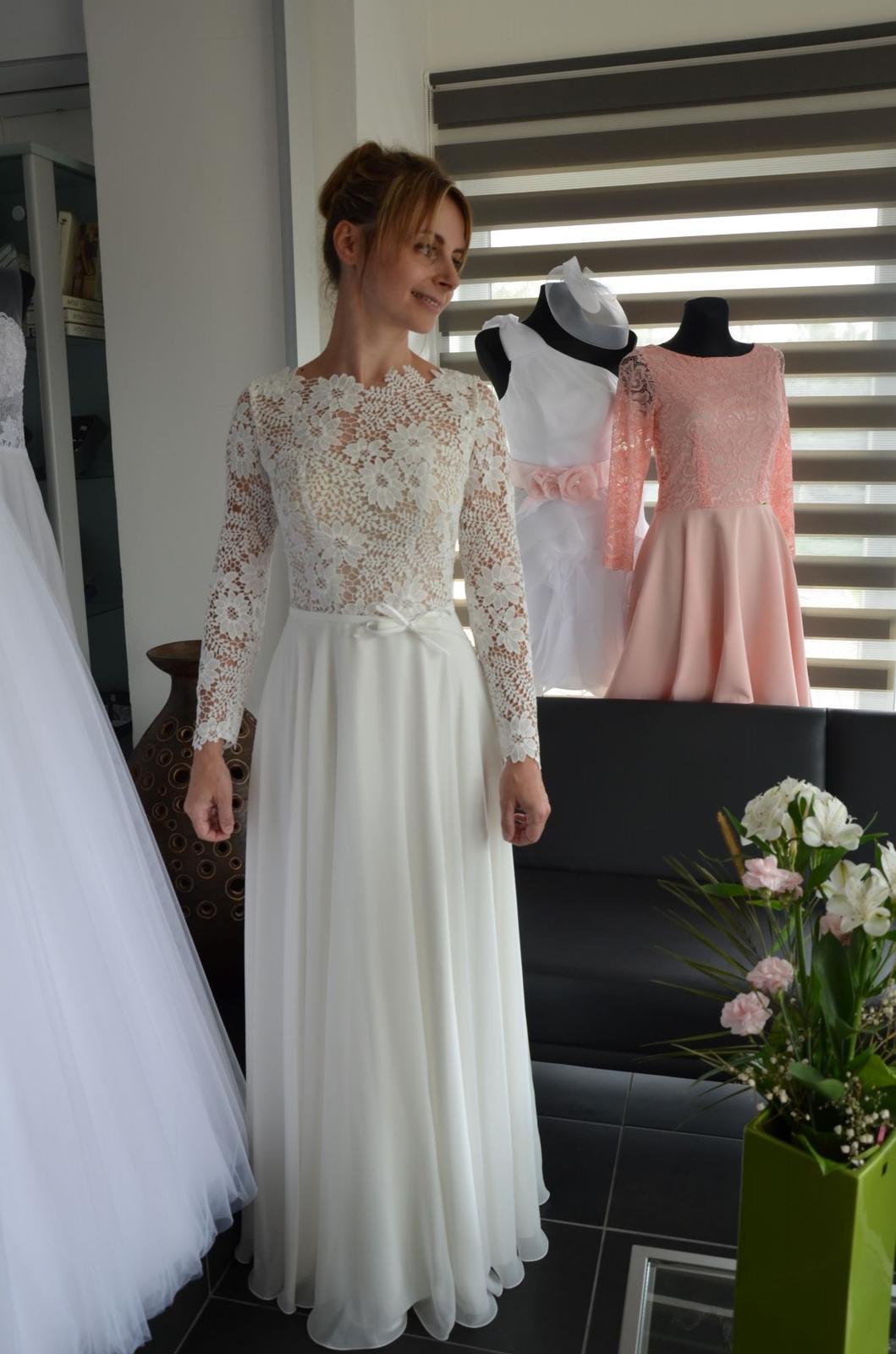 Boho svatební šaty - Obrázek č. 5