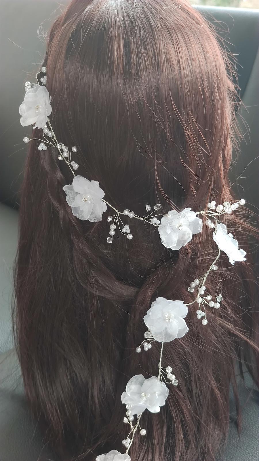 Nová svatební větvička do vlasů - Obrázek č. 1