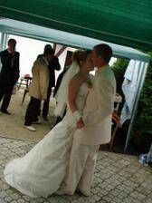 náš první taneček........