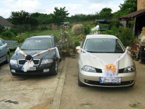 Naše autíčka