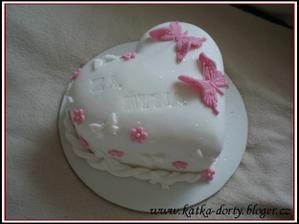 Děkovný dorty..inspirace