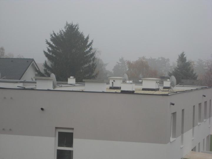 Kittsee Steinfeldsiedlung 17.11.2011 - satelity na RHckach