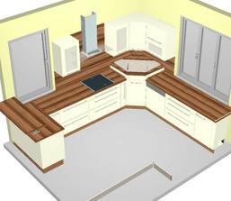 predbezna vizualizacia nasej kuchyne, dve okna ostavaju