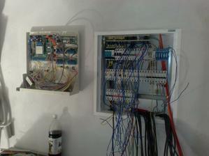 Zapájame elektriku a alarm