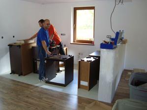 Montáž kuchyne