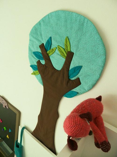 Dětský pokoj - naše inspirace - Textilní samolepka - že bychom zapojili vlastní tvořivost?