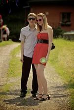 Štěpánka a Tomáš - sestra nevěsty