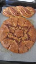 skořicovo ořechový kringel
