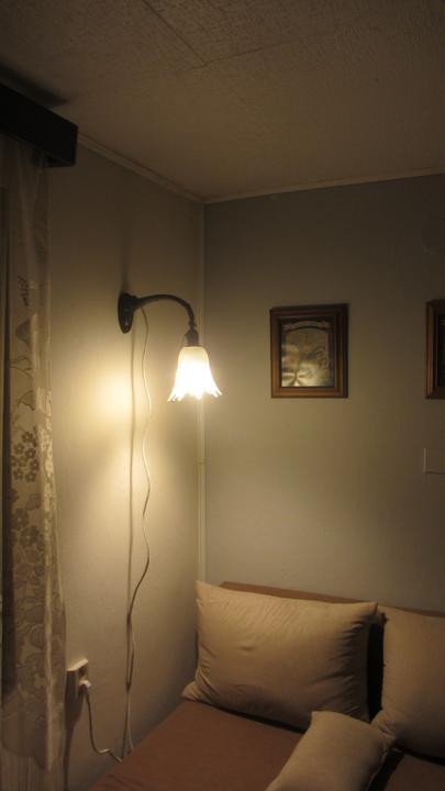 Konečně mám čtecí lampičku - zrekonstruovaný nalezenec