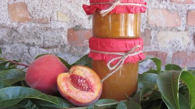 Broskvovo-citronová marmeláda - recept v komentáři