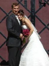 ze svatby mé sestřenice