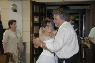 tanec nevěsty s tatínkem