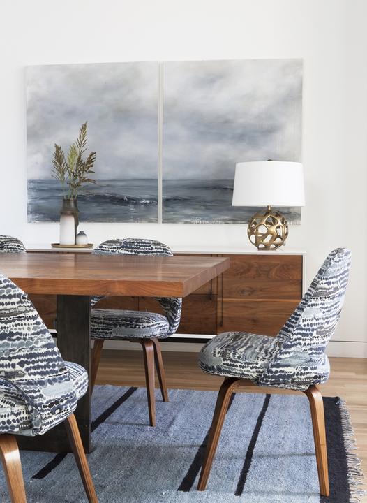 Inšpiratívne kombinácie - textúry, povrchy, vzory, farby - z obrazu šup na stoličky