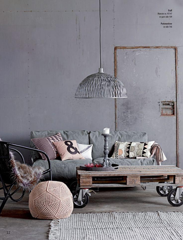 Inšpiratívne kombinácie - textúry, povrchy, vzory, farby - a že sivá je nudná :-)