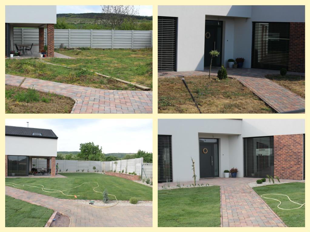 Exteriér - záhrada - Hore pred, dole po