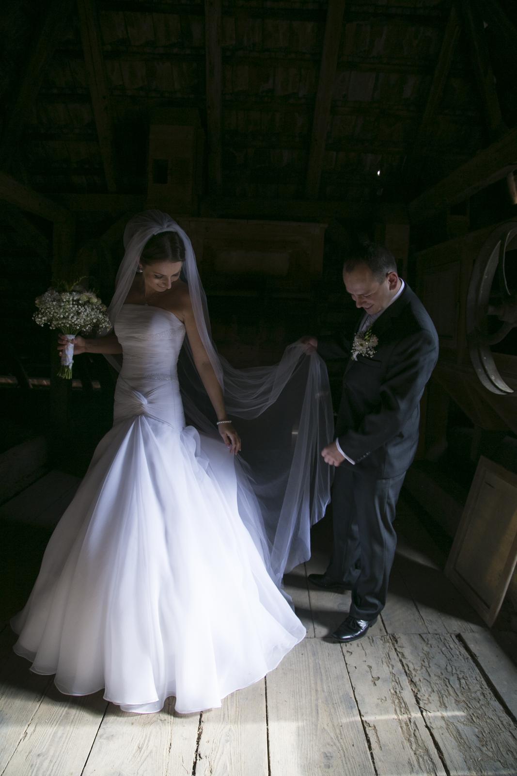 Svadobné šaty La Sposa 36 - Obrázok č. 4