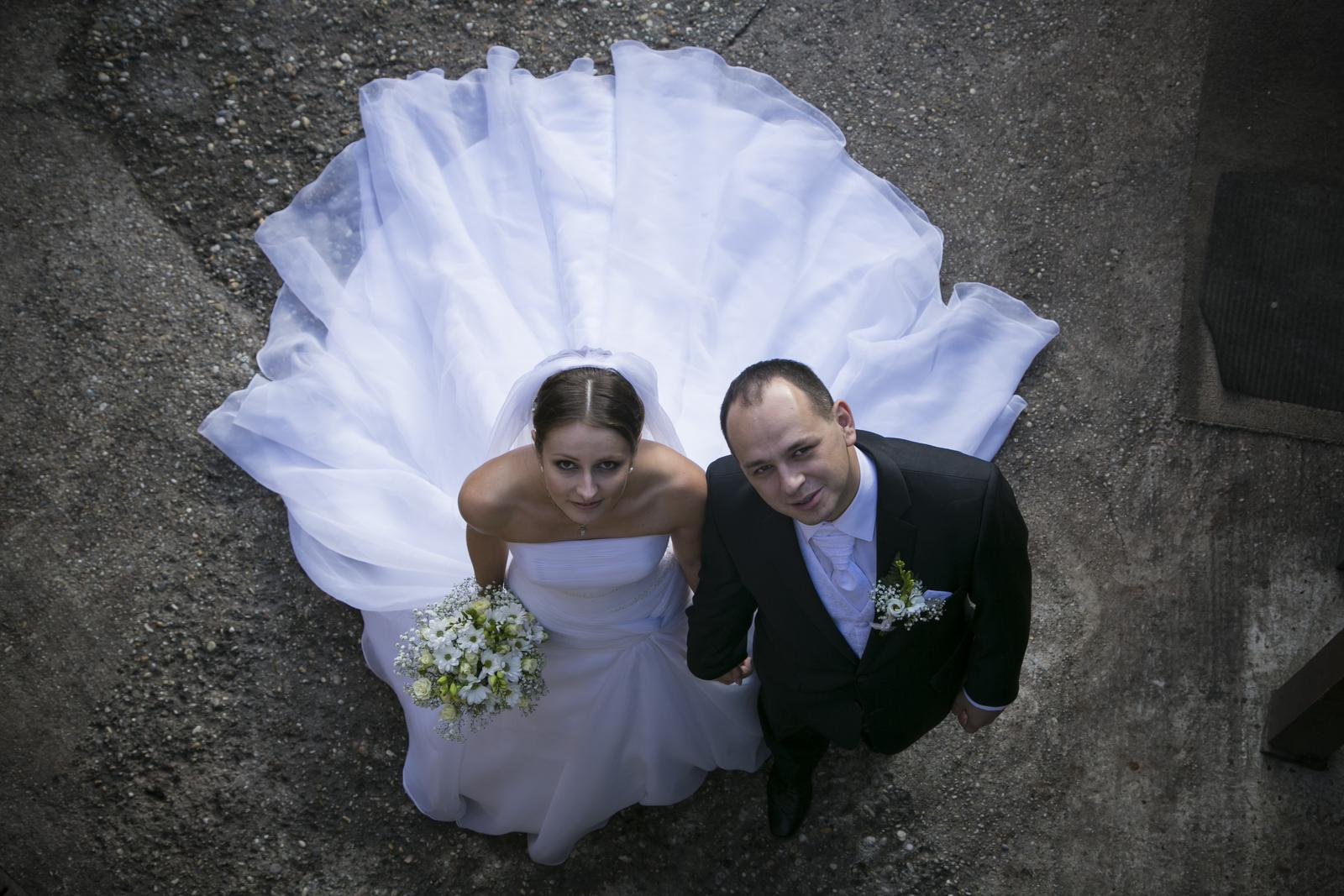 Svadobné šaty La Sposa 36 - Obrázok č. 2