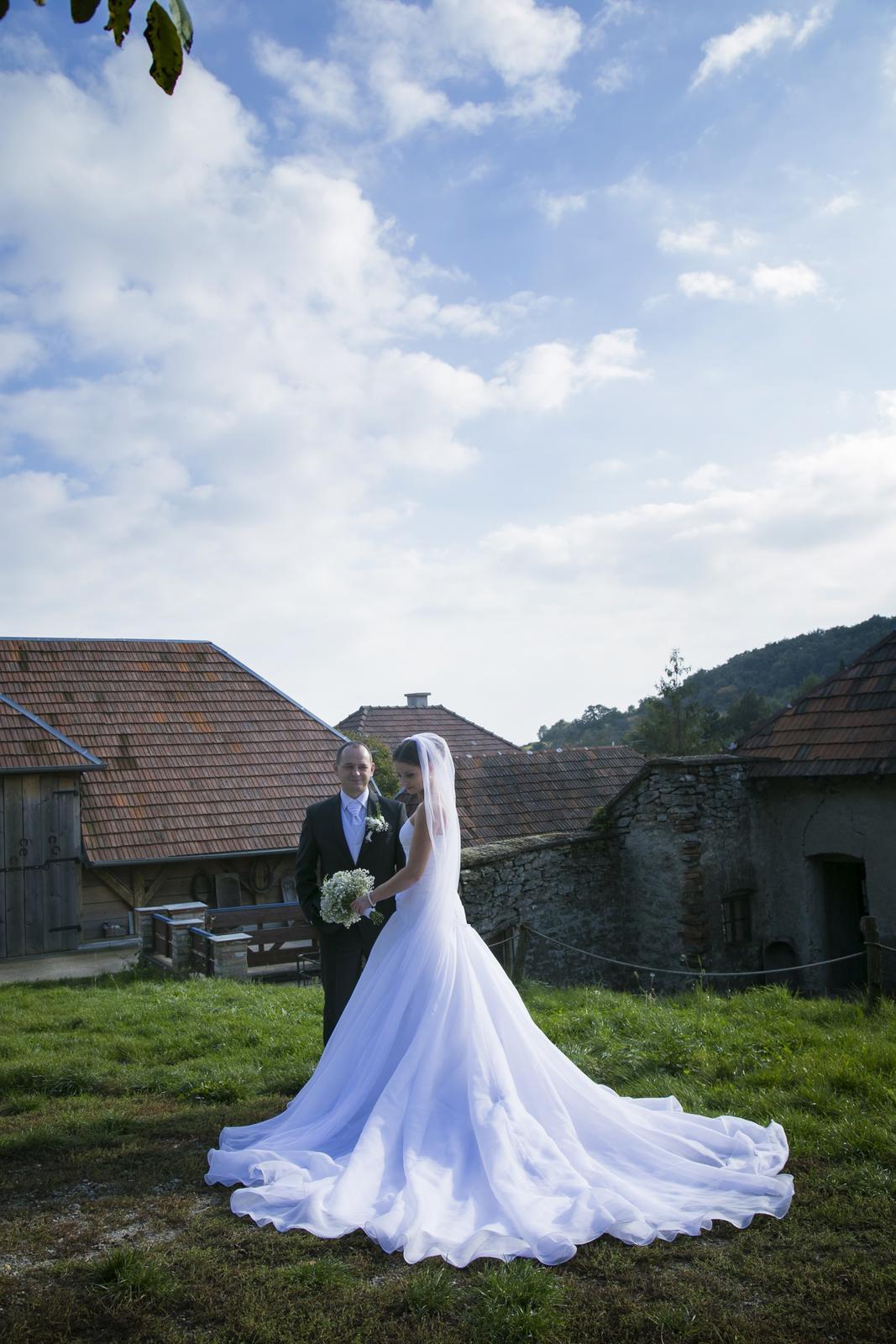 Svadobné šaty La Sposa 36 - Obrázok č. 3