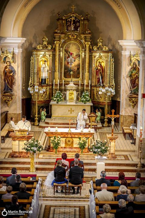 Lucka{{_AND_}}Jožko - bolo mi cťou mať obrad v tomto nádhernom kostole...