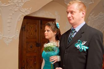 Tak tihle dva byli u naší seznamovačky a tak jinak to nemohlo být u svatby :)