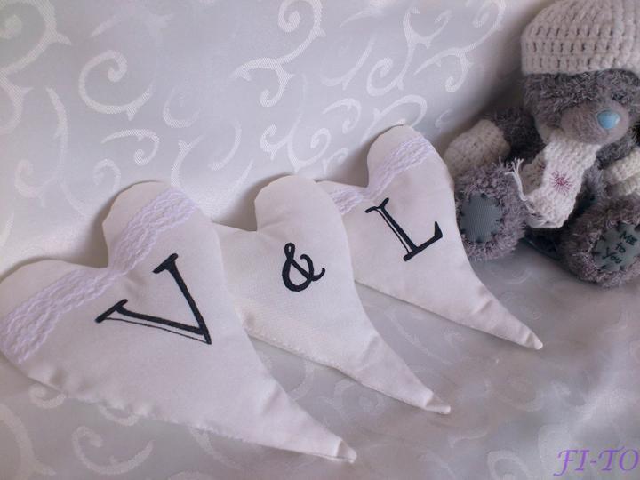 Svatební doplňky v barvě bílo černé - Obrázek č. 4