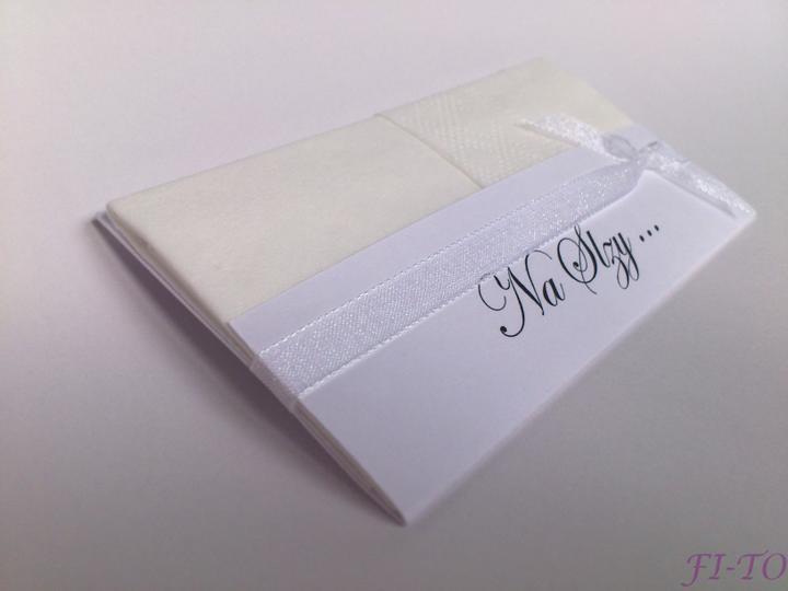 Svatební doplňky v barvě bílo černé - Obrázek č. 10
