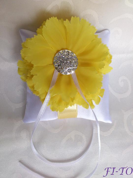 Svatební doplňky v barvě žluté - Obrázek č. 2