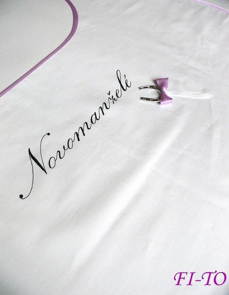 Bryndák pro novomanžele s podkovou - Obrázek č. 1