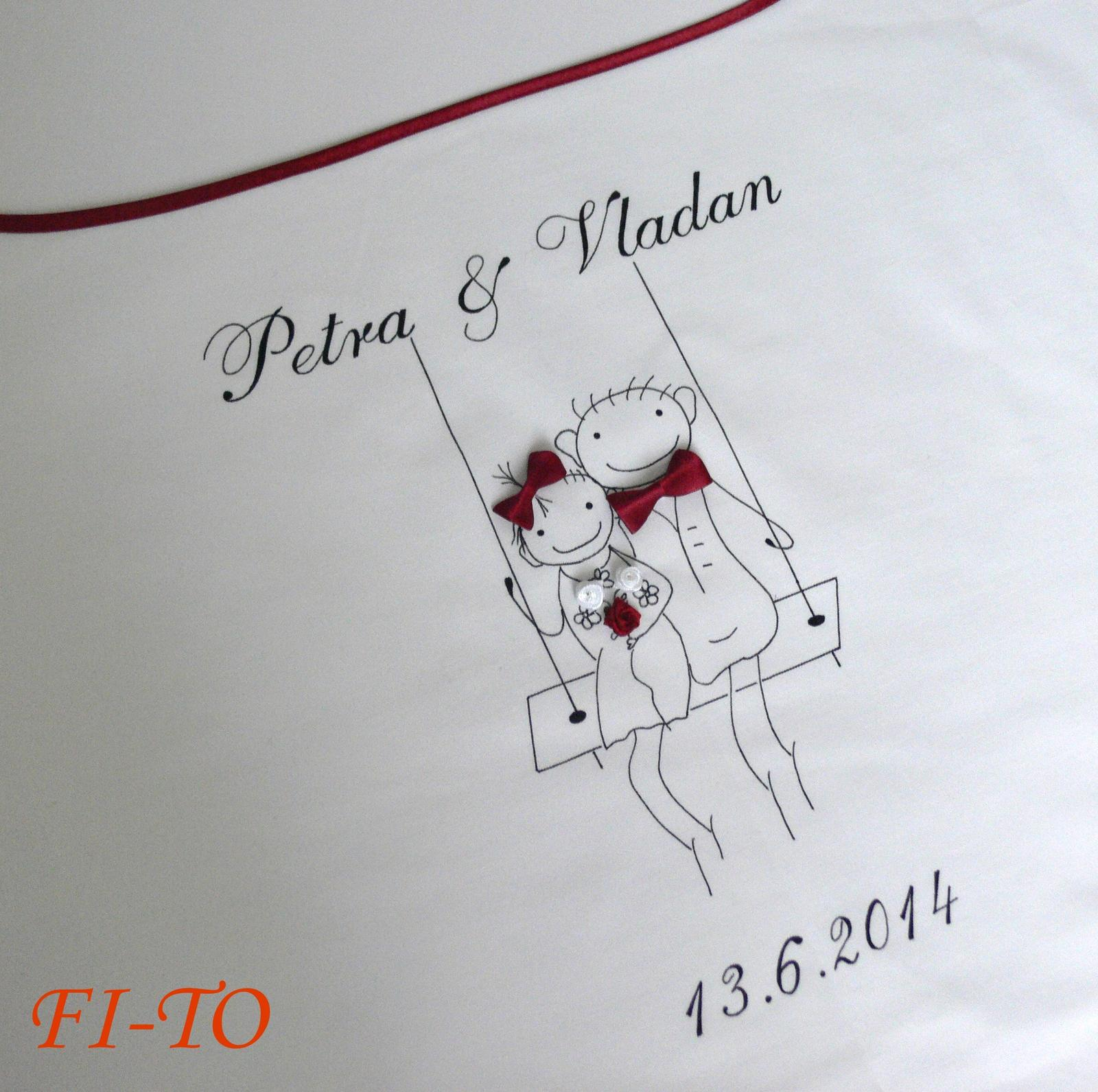 Bryndák pro novomanžele na houpačce - Obrázek č. 1