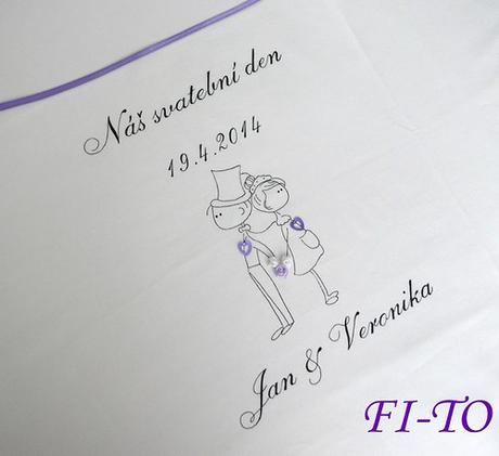 Bryndák pro novomanžele postavičky - Obrázek č. 2