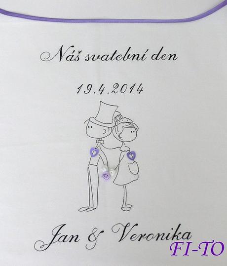 Bryndák pro novomanžele postavičky - Obrázek č. 3