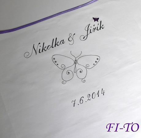 Bryndák pro novomanžele s motýlkem - Obrázek č. 1