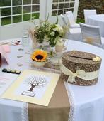 Svatební strom hostů,