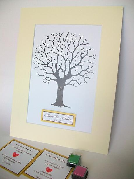Svatební strom hostů - Obrázek č. 2
