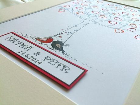 Svatební strom - ptáčci - Obrázek č. 2