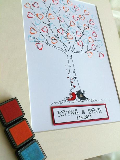 Svatební strom - ptáčci - Obrázek č. 1