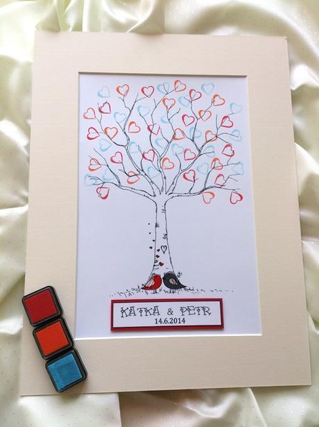 Svatební strom - ptáčci - Obrázek č. 3