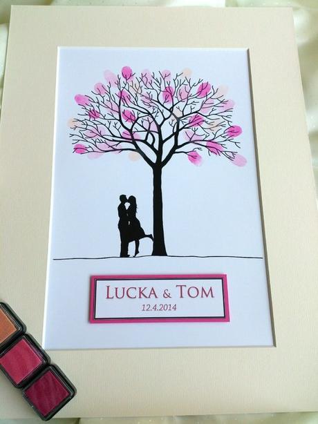 Svatební strom - pár - Obrázek č. 3