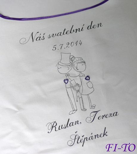 Bryndák pro novomanžele postavičky s dítětem - Obrázek č. 1