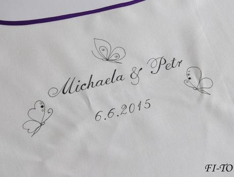 Bryndák pro novomanžele s motýlky - Obrázek č. 1