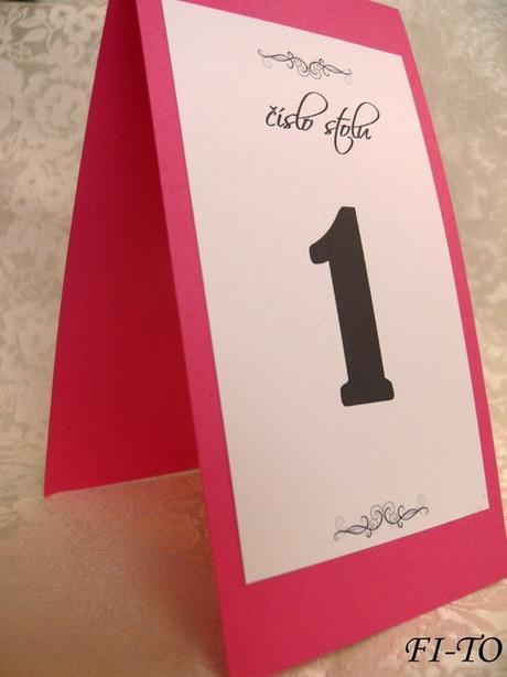 Které číslo stolu - Obrázek č. 1