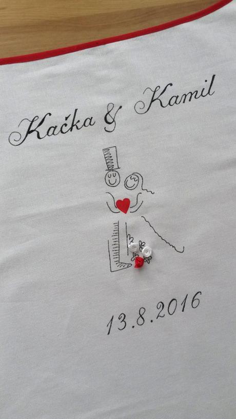 Bryndák pro novomanžele se srdcem a klouboukem - Obrázek č. 1