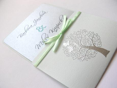 Svatební oznámení se stromem - Obrázek č. 1