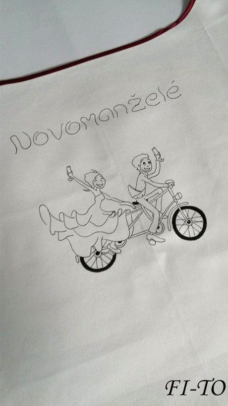 Bryndák pro novomanžele na kole - Obrázek č. 1