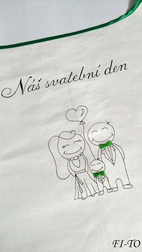 Bryndák pro novomanžele my tři s motýlky - Obrázek č. 1