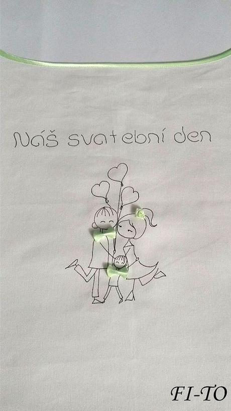 Bryndák pro novomanžele my tři s balonky - Obrázek č. 2
