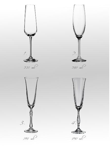 Svatební sklenice srdce s růží - Obrázek č. 2