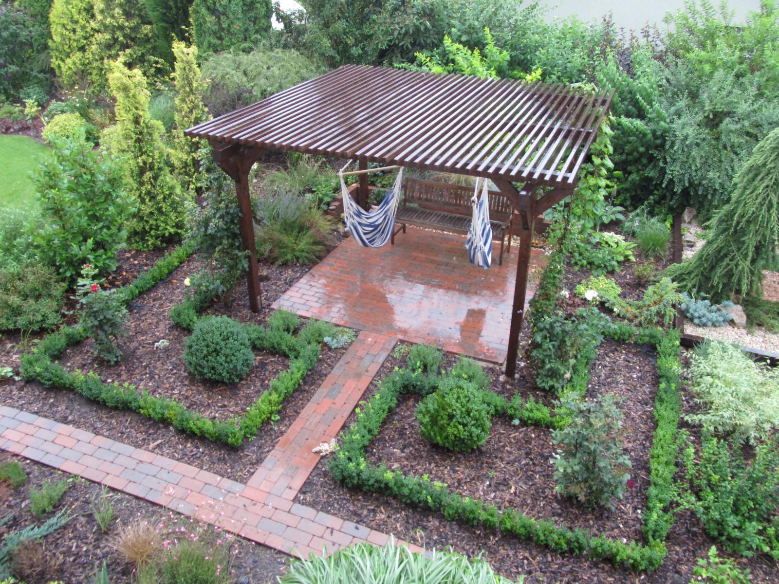 Zahrada z ptačí perspektivy - Obrázek č. 1